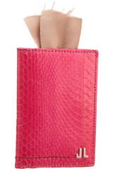 Lanvin Jl Credit Card Holder - Lyst