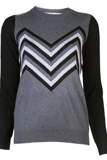 Lela Rose Crewneck Sweater - Lyst