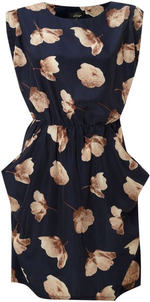 Madam Rage Floral Slouch Dress - Lyst
