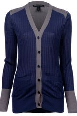 Marc By Marc Jacobs Ribbed Cardigan - Lyst