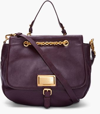 Marc By Marc Jacobs Chocolate Leather Ross Bag - Lyst