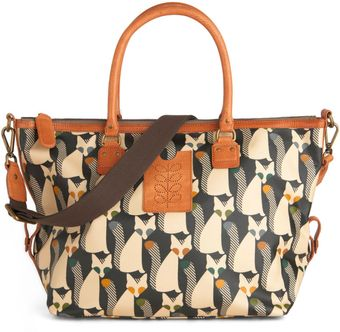 ModCloth Orla Kiely The Fox Of Life Bag - Lyst