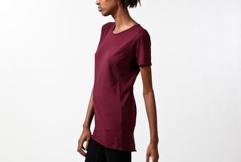 Oak Tube Tee Oxblood - Lyst