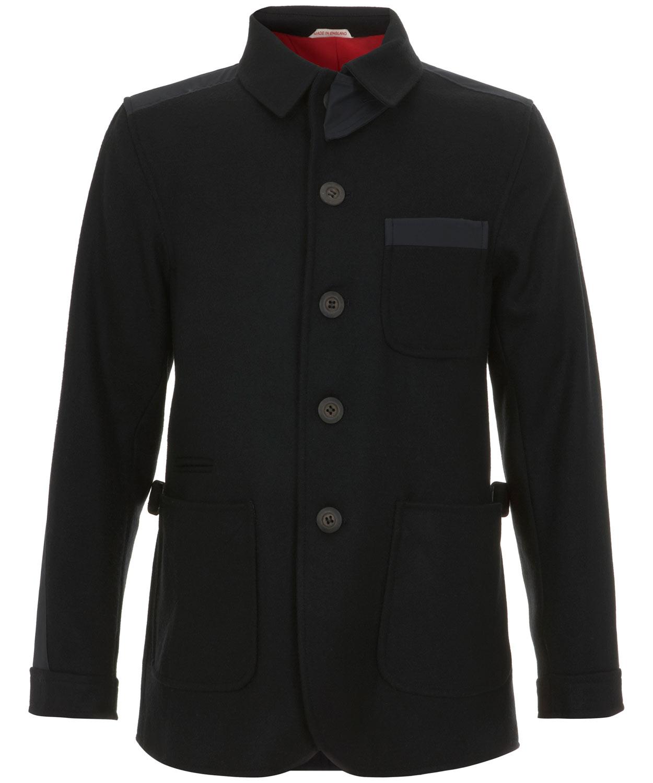 Lyst Oliver Spencer Black Wool Donkey Jacket In Black