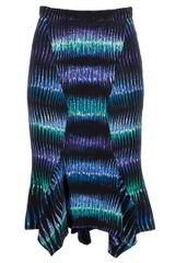 Peter Pilotto Printed Skirt - Lyst