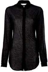 Pierre Balmain See Through Blouse - Lyst