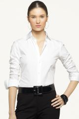 Ralph Lauren Black Label Capri Cotton Shirt - Lyst