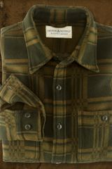 Ralph Lauren Greenfield Plaid Ward Shirt - Lyst