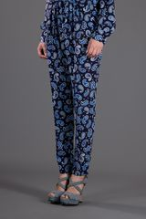 Stella Mccartney Paisley Trouser in Blue - Lyst