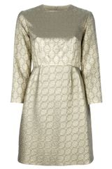 Stella McCartney Lurex Patterned Dress - Lyst