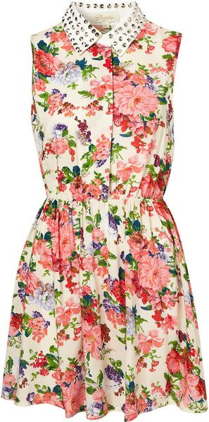 Topshop Marina Dress By Goldie - Lyst