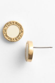 Tory Burch Cole Stud Earrings - Lyst