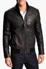 Vince Leather Moto Jacket - Lyst
