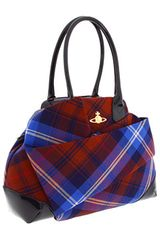 Vivienne Westwood Winter Tartan 209 Bag