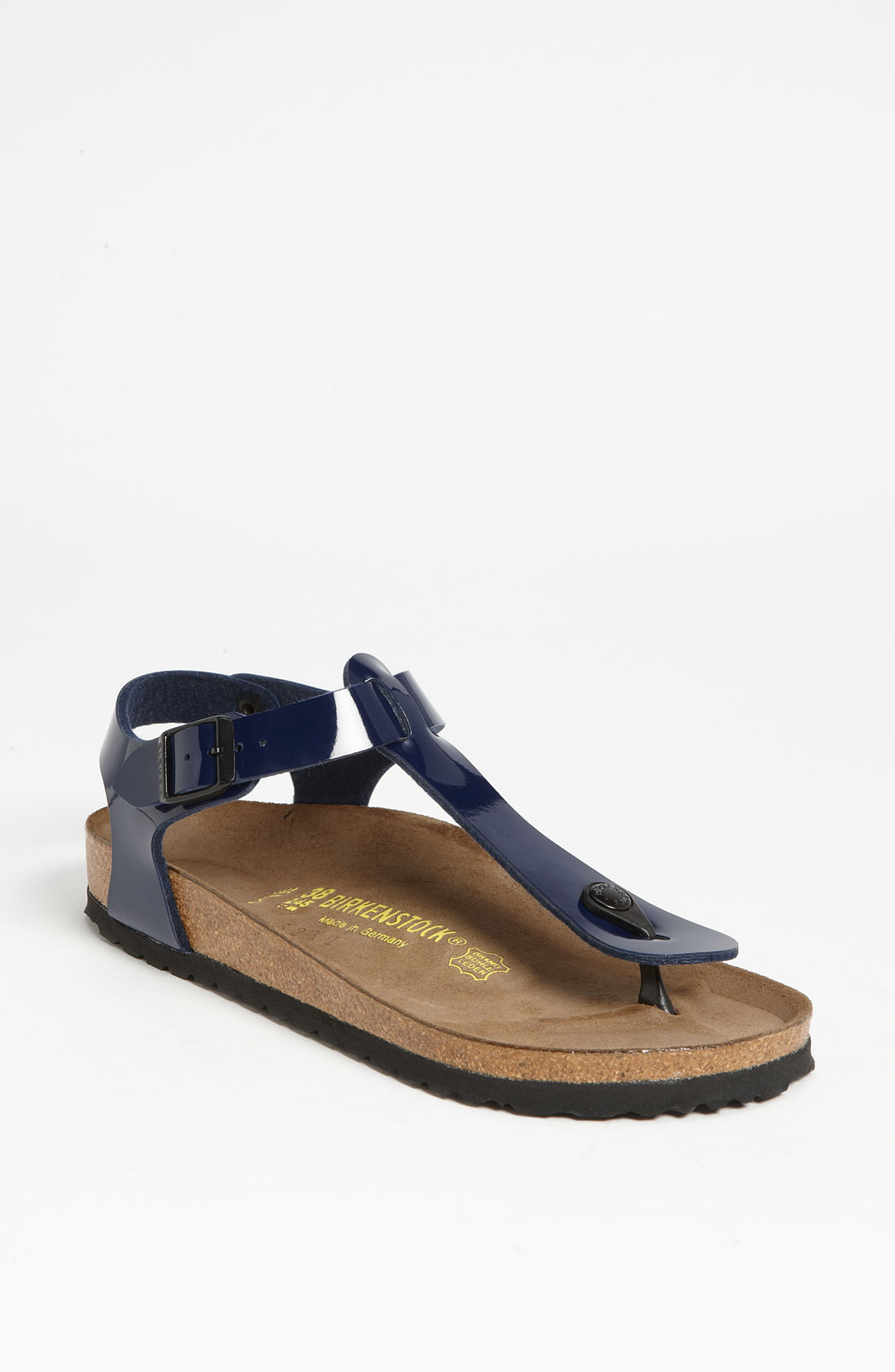Birkenstock Kairo Sandal In Blue Dress Blue Patent Lyst