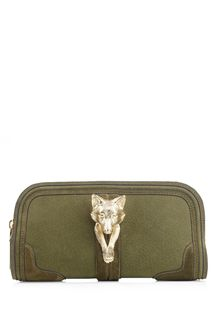 Burberry Prorsum Alma Gold Fox Clutch - Lyst
