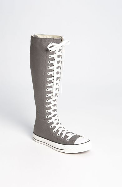 Womens Charcoal High Top Shoes