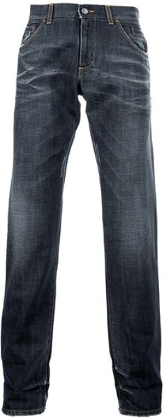 Dolce & Gabbana Bootcut Jean in Gray for Men (grey) - Lyst
