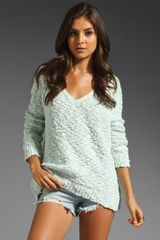 Free People Shaggy Bear Songbird Pullover - Lyst
