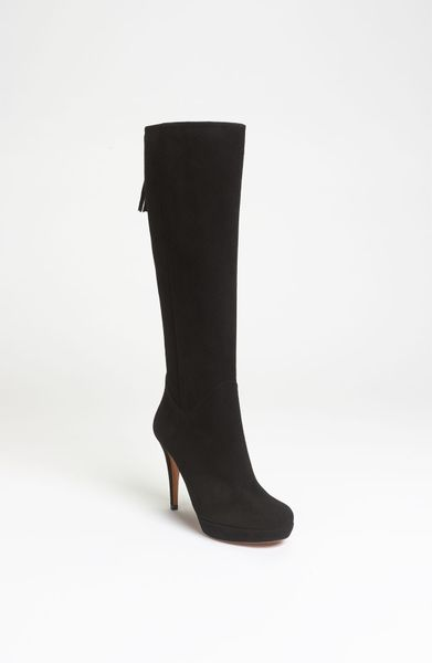 Gucci Betty Tall Boot in Black - Lyst