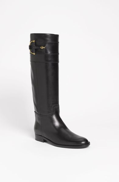Gucci Class Boot in Black - Lyst