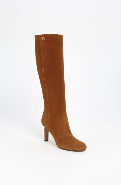 Gucci Georgina Tall Boot in Brown - Lyst