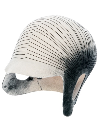 Henrik Vibskov Open Ear Hat Showpiece in White - Lyst 749155809a04