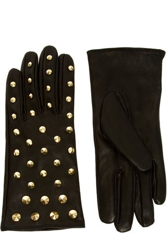 Love Asos Leather All Over Stud Gs - Lyst