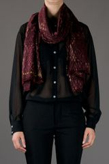 Marc By Marc Jacobs Dragonscale Shawl in Red - Lyst