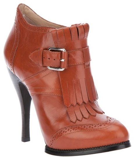 Mcq By Alexander Mcqueen Shoe Boot in Brown (tan)