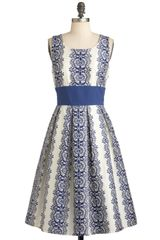 ModCloth Katies Keep It Precious Dress - Lyst