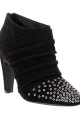 See By Chloé Eyelet Detail Ankle Boot - Lyst