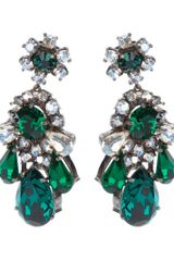 Shourouk Crystal Earrings - Lyst