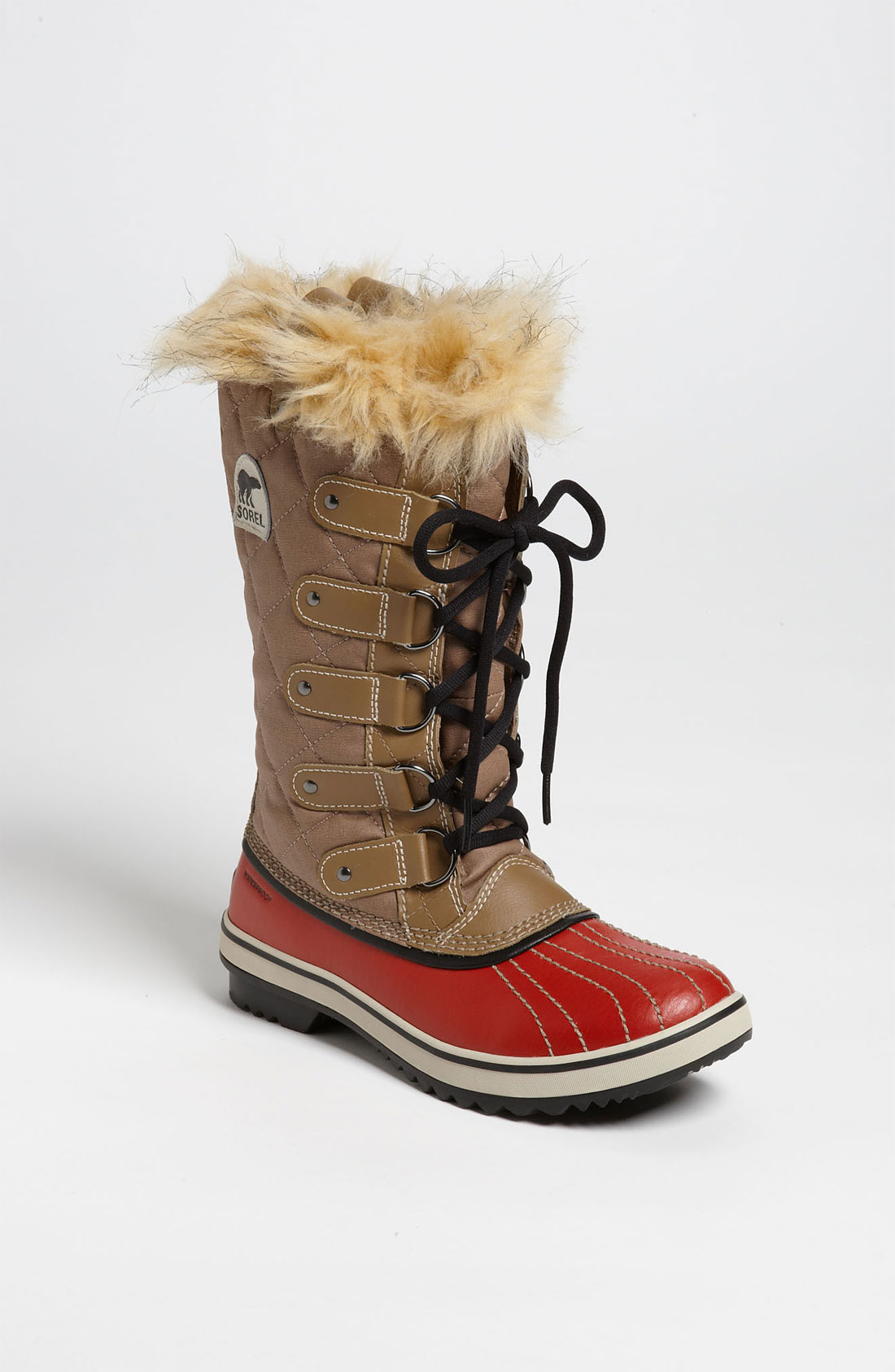 Sorel Tofino Boot In Beige Red Tan Lyst
