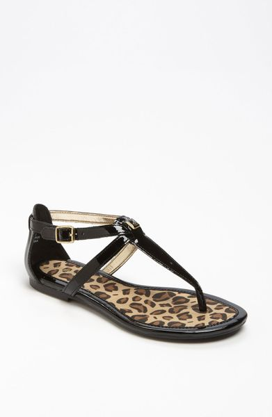 Sperry Top Sider Summerlin Sandal In Black Black Patent