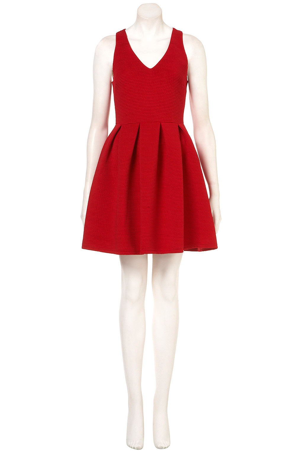 Red Dress Topshop