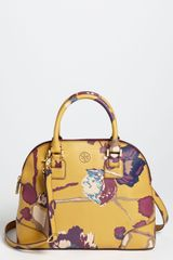 Tory Burch Robinson Small Dome Satchel - Lyst