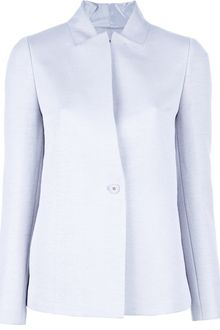 Calvin Klein Single Button Blazer - Lyst