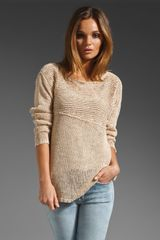 Inhabit Crew Neck Sweater - Lyst