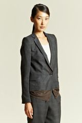 Kolor Kolor Womens Check Blazer - Lyst