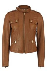 Michael Kors Plonge Motorcycle Jacket