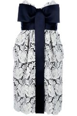 Stella Mccartney Sleeveless Lace Dress in White - Lyst