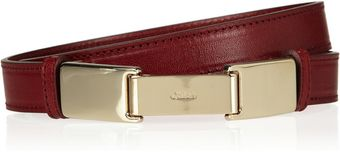 Chloé Leather Belt - Lyst