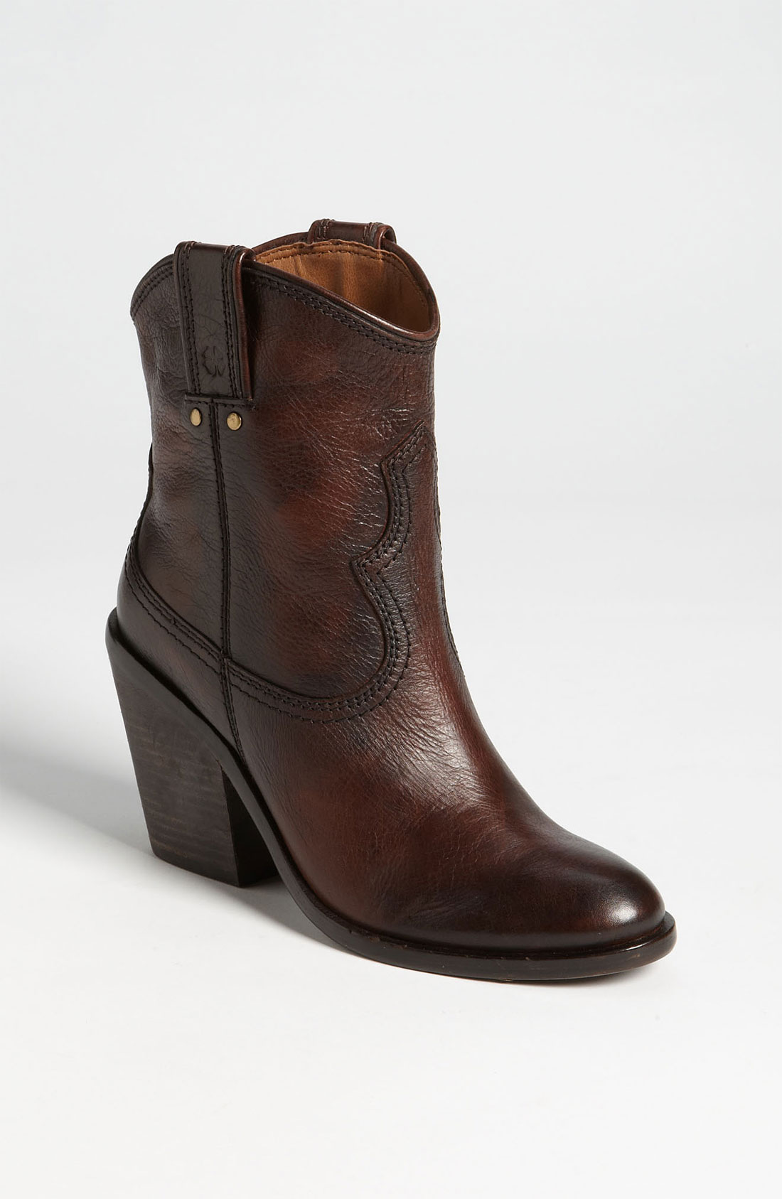lucky brand ellena boot in brown tobacco lyst