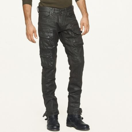 raph-lauren-black-label-denim-pave-brown
