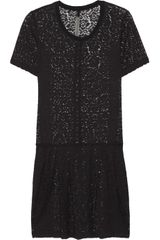 Raquel Allegra Lace Mini Dress - Lyst