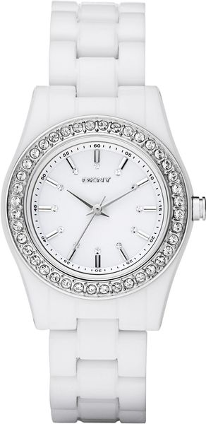 DKNY Glitz Watch - Lyst