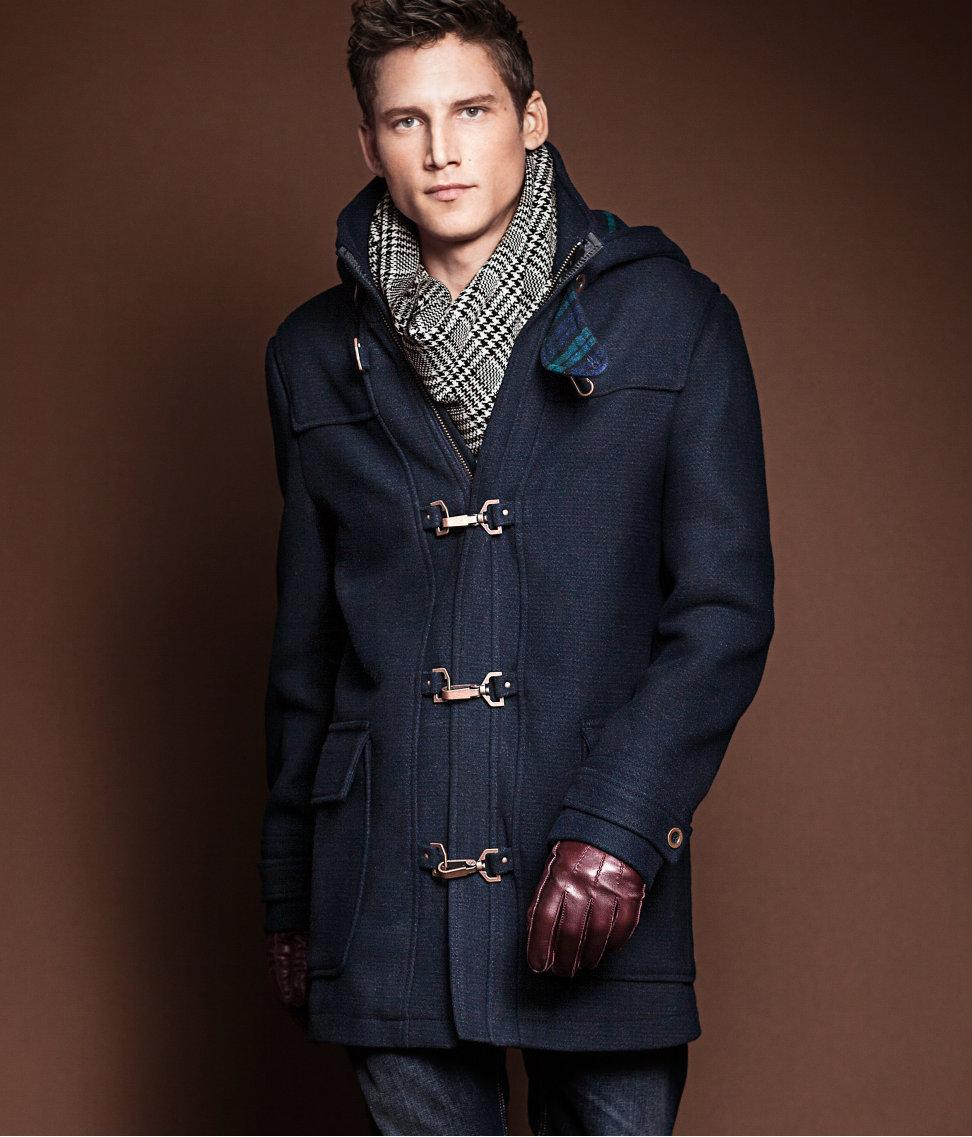 H&m Coat in Blue for Men | Lyst