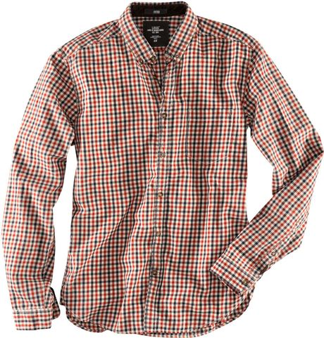 H&m Shirt in Red for Men (rust) - Lyst
