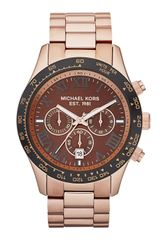 Michael Kors  Oversized Layton Chronograph Watch  - Lyst